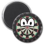 Dartboard emoticon   fridge_magents_magnet