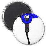 Hairdryer buddy icon   fridge_magents_magnet