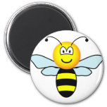 Bumble bee emoticon   fridge_magents_magnet