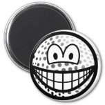 Golfball smile   fridge_magents_magnet