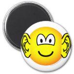 Ears emoticon Big  fridge_magents_magnet