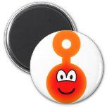Teletubbie emoticon Po  fridge_magents_magnet