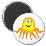 Octopus emoticon   fridge_magents_magnet