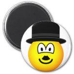 Charlie Chaplin emoticon   fridge_magents_magnet
