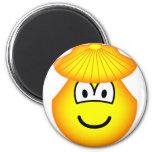 Clam emoticon   fridge_magents_magnet