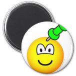 Thumbtack emoticon Drawing pin  fridge_magents_magnet