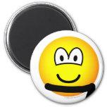 Black belt emoticon   fridge_magents_magnet