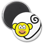 Monkey buddy icon   fridge_magents_magnet