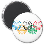Olympic smile   fridge_magents_magnet