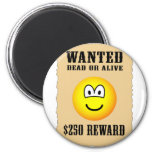 Wanted poster emoticon   fridge_magents_magnet