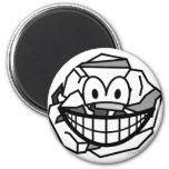 Ball of paper smile   fridge_magents_magnet
