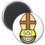 Pope smile   fridge_magents_magnet