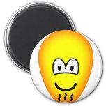 Egg of Columbus emoticon   fridge_magents_magnet