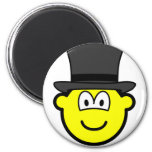 Top hat buddy icon   fridge_magents_magnet