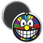 Wheel of fortune smile   fridge_magents_magnet