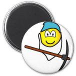 Bashfull emoticon Seven Dwarves  fridge_magents_magnet