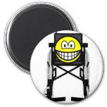 Wheelchair smile   fridge_magents_magnet