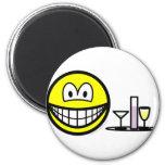 Waiter smile   fridge_magents_magnet