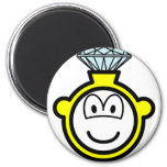 Diamond ring buddy icon   fridge_magents_magnet