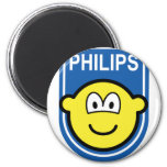 Philips buddy icon Let's make things buddy icon  fridge_magents_magnet