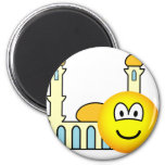Mosque going emoticon   fridge_magents_magnet