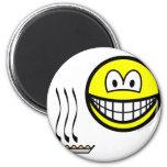 Pie baked smile   fridge_magents_magnet