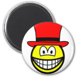 Red hat smile Six Thinking Hats - Emotions and Feelings  fridge_magents_magnet