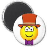 Willy Wonka emoticon   fridge_magents_magnet