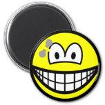 Pierced smile   fridge_magents_magnet