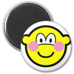 Blushing buddy icon Embarrassed  fridge_magents_magnet