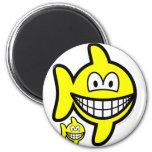 Pisces smile Zodiac sign  fridge_magents_magnet