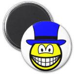Blue hat smile Six Thinking Hats - Control of Thinking  fridge_magents_magnet