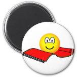 Flying carpet emoticon   fridge_magents_magnet