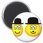 Laurel & Hardy emoticon   fridge_magents_magnet