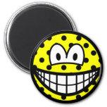 Polka dotted smile   fridge_magents_magnet