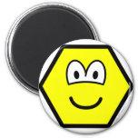 Hexagon buddy icon   fridge_magents_magnet