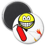 Fire extinguising smile   fridge_magents_magnet