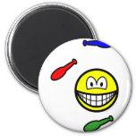 Juggling smile   fridge_magents_magnet