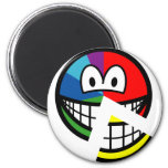 Pie chart smile Highlighted  fridge_magents_magnet