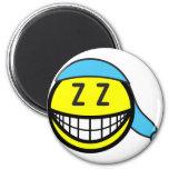 Sleeping cap smile   fridge_magents_magnet