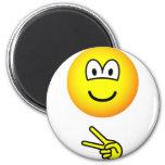 Scissors emoticon rock - paper - scissors  fridge_magents_magnet
