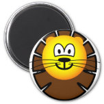 Leo emoticon Zodiac sign  fridge_magents_magnet