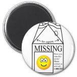 Missing emoticon   fridge_magents_magnet