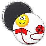 Breiende emoticon   fridge_magents_magnet