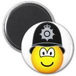 English bobby emoticon   fridge_magents_magnet