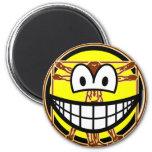 Vitruvian Man smile Da vinci  fridge_magents_magnet
