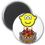Blowing out candles buddy icon   fridge_magents_magnet