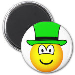Green hat emoticon Six Thinking Hats - Creative Lateral Thinking  fridge_magents_magnet