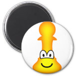 Pawn Chess emoticon  fridge_magents_magnet