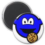 Cookie monster buddy icon   fridge_magents_magnet